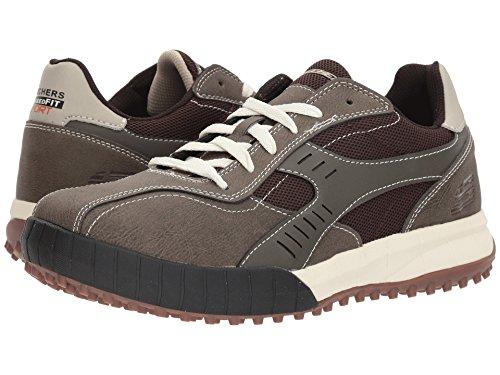 [SKECHERS(スケッチャーズ)] メンズスニーカー?ランニングシューズ?靴 Floater 2.0 Brown/Taupe 9 (27cm) D - Medium