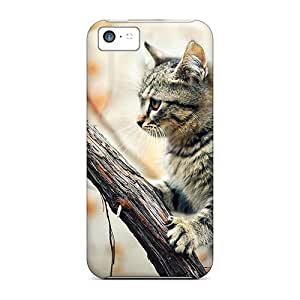 CADike Design High Quality Cat On A Tree Cover Case With Excellent Style For Iphone 5c
