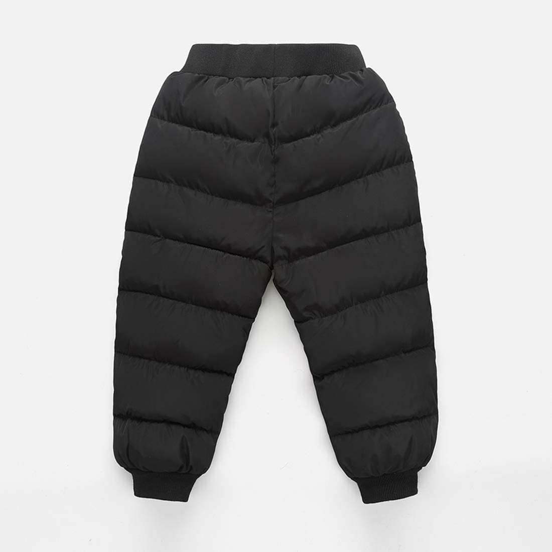 CECORC Puffer Winter Pants for Boys and Girls Warm and Windproof Trousers,Snow Play