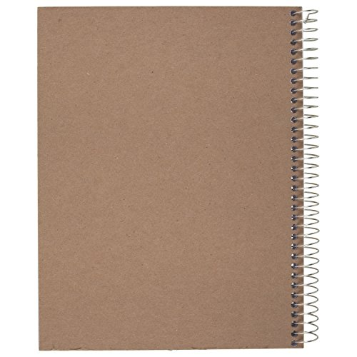 043100544043 - Mead Acadmie Spiral Sketchbook / Sketch Pad, Heavyweight Paper, 70 Sheets, 11 x 8.5 Inch Sheet Size (54404) carousel main 3