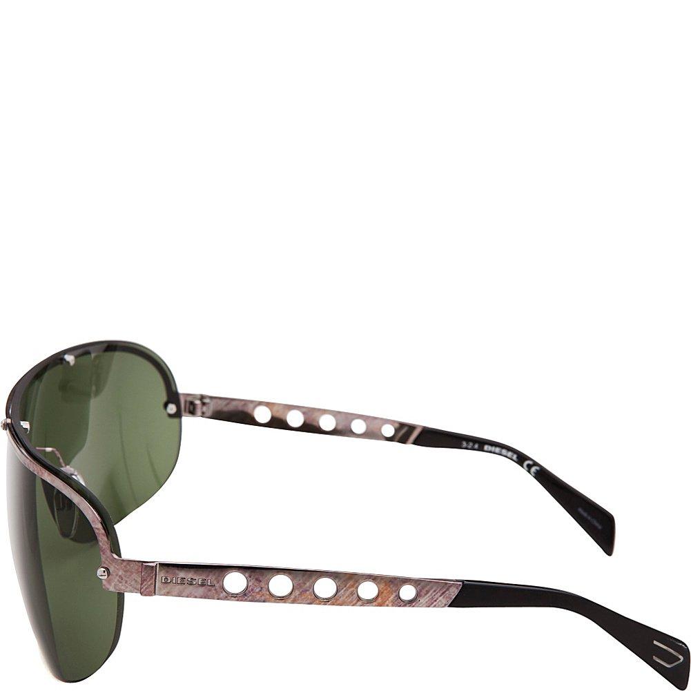 Amazon.com: Diesel de los hombres anteojos de sol Metal, 26 ...