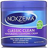 Noxzema Classic Clean, Moisturizing Cleansing Cream 12 oz (Pack of 4)