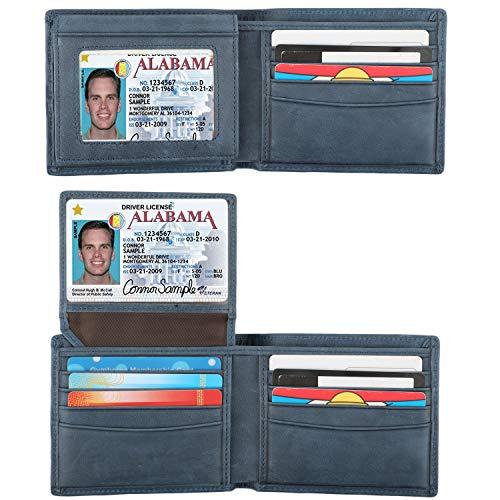 Lavemi RFID Blocking Cowhide Leather Bifold Wallet ()