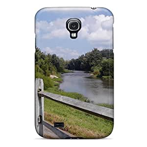 Durable Bike Path View Back Case/cover For Galaxy S4