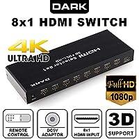 Dark Dk-Hd-Sw8X1 Full Hd Uzaktan Kumandalı Hdmi Switch
