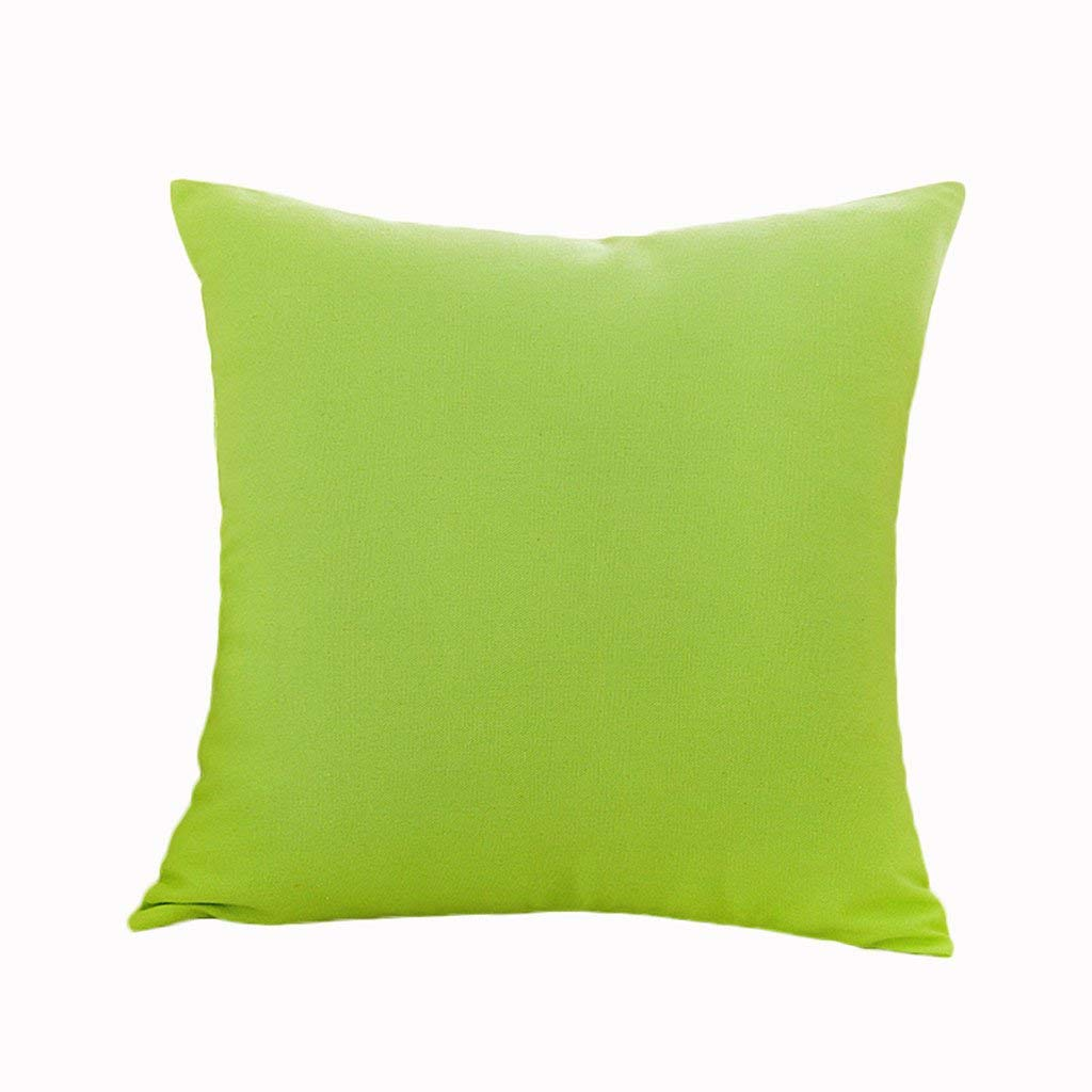 Soft Pillow Creative Fancy Back Pad Lumbar Back Pad Waist Pillow Pillow Bedroom Plain Creative Car Cushion Backrest Sofa Bedside Soft and Comfortable (Color : #2, Size : 4545CM)