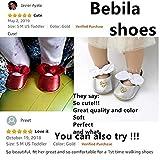 Bebila Baby Girls Shoes Newborn Mary Jane Baby