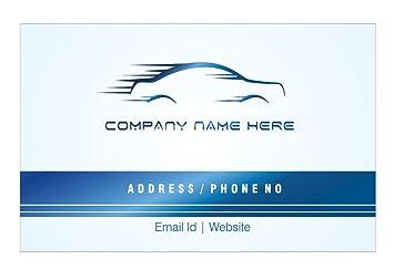 Personalisierte Auto Reparatur Garage Visitenkarten