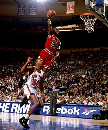 Michael Jordan Slam Dunk, Peel and Stick Removable Wall Decals Sticker (30