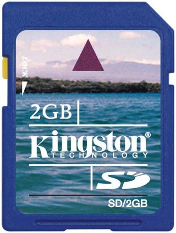 Amazon.com: Kingston 2 GB SD tarjeta de memoria flash sd/2GB ...