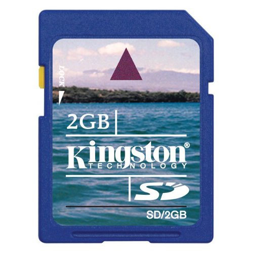 Kingston 2 GB SD Flash Memory Card ()