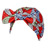 FEDULK Women Headscarf Headwrap Hijab Soft Head Wrap Stretch Cancer Chemo Muslim Cap Islamic Underscarf Hats(Blue)