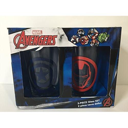 Avengers 2-Piece Pint Glass Set