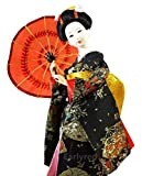Japanese Geisha Kimono Doll - 12 Inches
