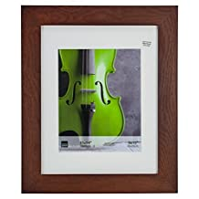 Kiera Grace Aspen Picture Frame, 11 by 14-Inch Matted for 8 by 10-Inch Photo, Rosewood