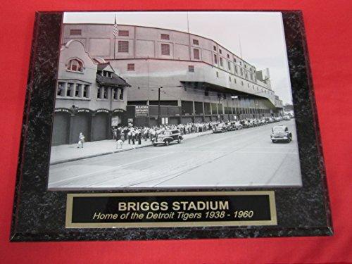 Briggs-Stadium-1945-World-Series-Collector-Plaque-w8x10-PHOTO