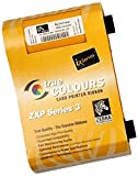 Zebra Ribbon, YMCKO, 4-Colour 200 prints/roll, 800033-840 (200 prints/roll)