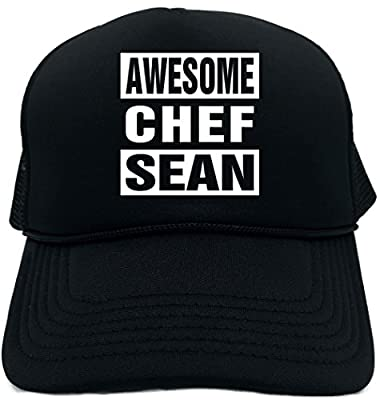 Signature Depot Funny Trucker Hat (Awesome Chef Sean (Kitchen Cook) Foam Cap