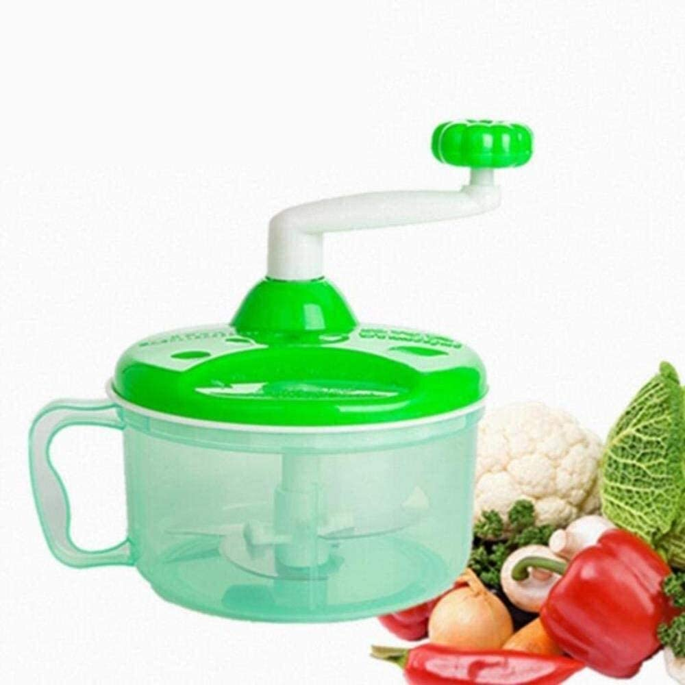 2 Pcs Powerful Manual Meat Grinder Hand-power Food Chopper Mincer Mixer Blender To Chop Meat Fruit Vegetable Nuts Herbs