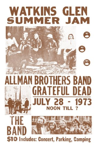 [Watkins Glen Summer Jam 1973 The Allman Brothers Band and The Grateful Dead 11
