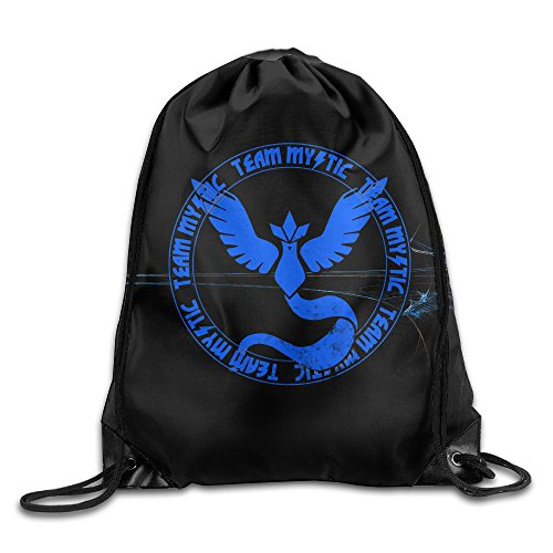 Pokemon Go Team MYSTIC Pokeball Game GYM Drawstring - Pokemon Burst