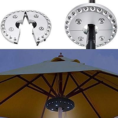 Parasol28led Plein Led Pour Spot Lampe Lumineux D'eclairage Modes Sans Fil Avec ParapluieCampingPatioJardinPlageRestaurant En 3 2ED9IH