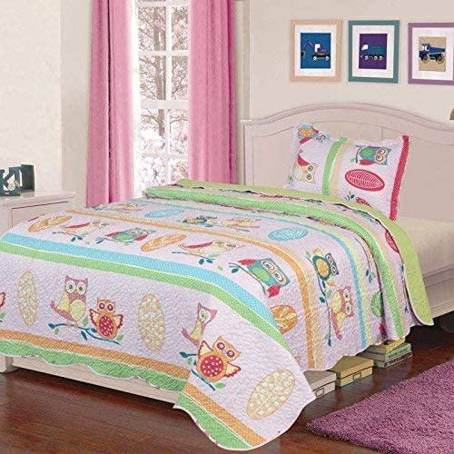 Fancy Collection Quilted Bedspread Turquoise