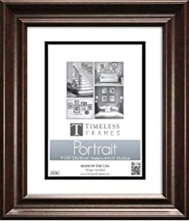 lauren portrait photo frame size 16 x 20 color dark mahogany