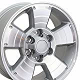 05 toyota tundra rims - 17x7.5 Wheel Fits Toyota - 4Runner Style Silver Rim w/Mach'd Face, Hollander 69429