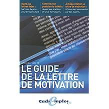 Guide de la lettre de motivation