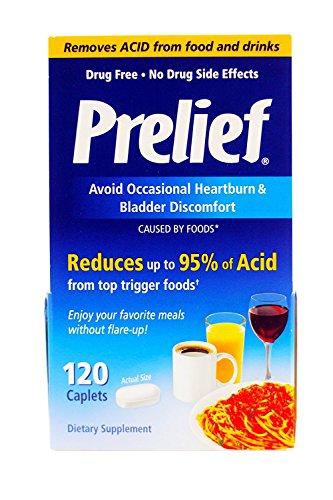 (Prelief Dietary Supplement - 120 Caplets)