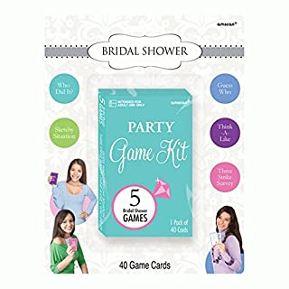 Amscan Bridal Shower Party Kit, 1 Piece, Multicolored