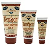 All Terrain TerraSport SPF30 Natural Sunscreen Lotion (3- Ounce)