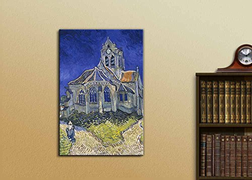 The Church in Auvers sur Oise View from The Chevet by Vincent Van Gogh Print Famous Painting Reproduction