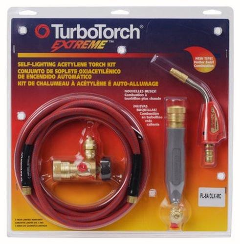 TurboTorch 0386-0834 PL-8ADLX-MC Torch Kit Swirl for MC tank, Air Acetylene by ESAB B000NOAS8W