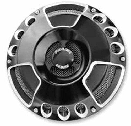 Arlen Ness 70-216 Black Billet Horn Kit (Slot/Track)