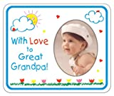 With Love to Great Grandpa crayola Magnet Photo Frame