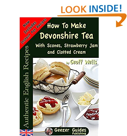 Strawberry recipe amazon how to make devonshire tea with scones strawberry jam and clotted cream authentic english recipes book 7 forumfinder Choice Image