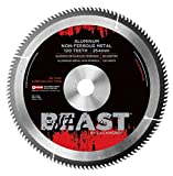 Lackmond Aluminum/Non-Ferrous Metal Saw Blade - 8'' Metal Cutting Tool with Triple Chip Grind for Smooth Chip Free Cuts & 5/8'' Arbor - MNFMB08064