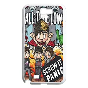 Qxhu All Time Low patterns Hard Case Back Cover for Samsung Galaxy Note2 N7100