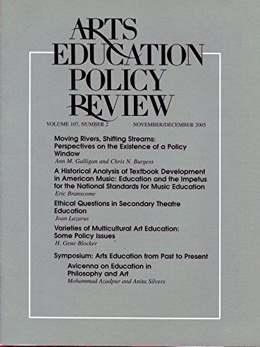 Arts Education Policy Review, v. 107, no. 3, November / December 2005