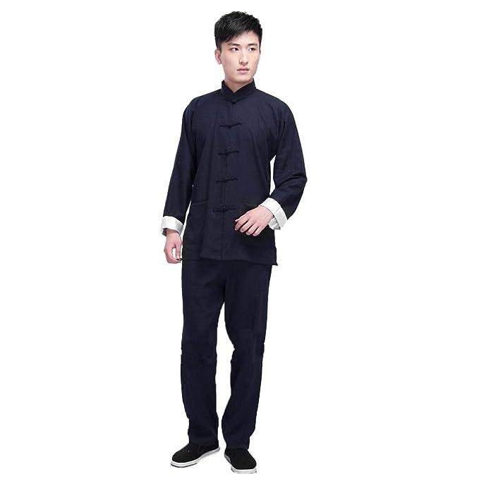 Amazon.com: ZooBoo Vintage Chinese Wing Chun Kung Fu Uniform ...