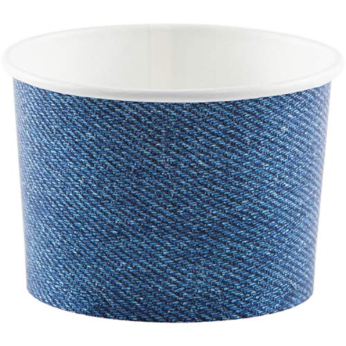 Denim Print Treat Cups, 24 ct]()