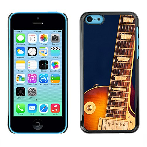 Premio Sottile Slim Cassa Custodia Case Cover Shell // F00007585 Guitare // Apple iPhone 5C