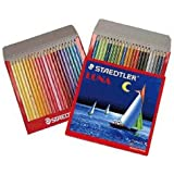 Staedtler 137 C 48 Abs Luna Water Colour Pencil , 48 Pcs Pack