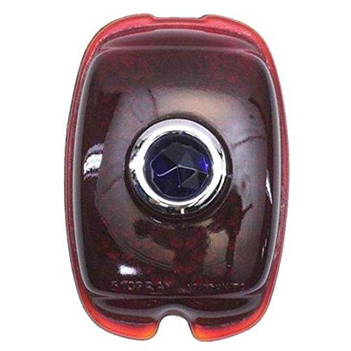 - 1937-1938 Chevy Blue Dot Tail Light Lens, Passenger Car