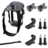 GBB Basic Sport Action Camera Adjustable Dog Harness Mount Chest Strap Sport Camcorder Accessories Kit for Gopro 1 2 3 4 (22 items)