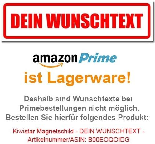 Tierarzt im Dienst Kiwistar Magnetschild 30x8cm f/ür KFZ und sonstige Metalloberfl/ächen