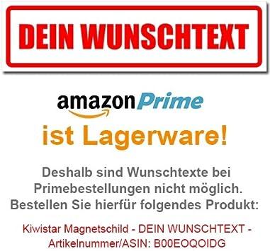 Kiwistar Magnetschild Rettungshundestaffel 30x8cm Für Kfz Und Sonstige Metalloberflächen Auto
