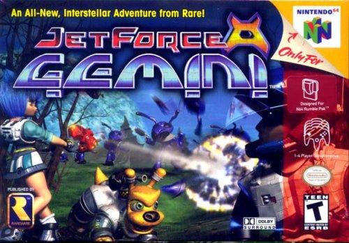 Best N64 Games - Jet Fore Gemini